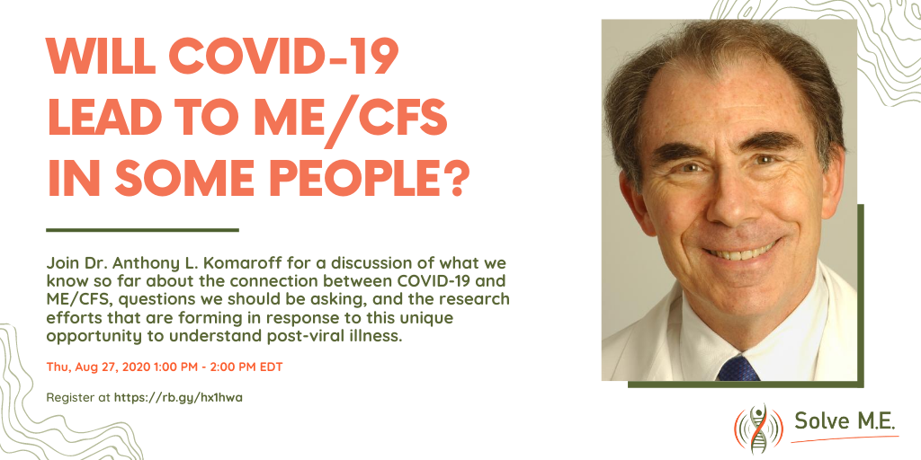 Me Cfs And Covid 19 Long Haulers Read Our Op Ed In The Guardian Solve Me Cfs Initiative